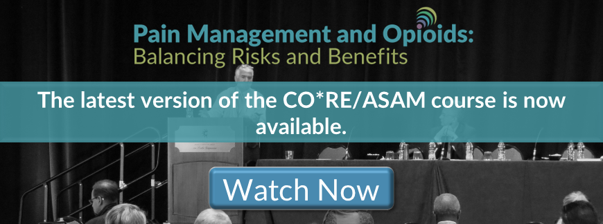 Pain Management and Opioids: Balancing Risks and Benefits product page